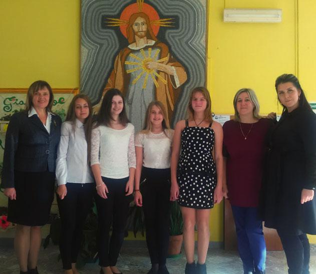 Talsu pamatskolas delegācija Itālijā