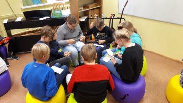 Talsu pamatskolas skolēnu aktivitātes mācību stundās
